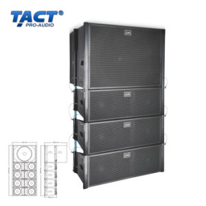 "Dual 6.5"" Neodymium Line Array Active Line Array Speaker (EV206 EV115S) pictures & photos"