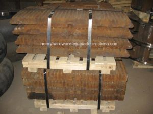 Jaw Plate of High Manganese Steel Casting pictures & photos