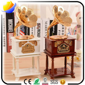 Retro Phonograph and Telephone of The Music Box for The Promotional Music Box Gifts pictures & photos