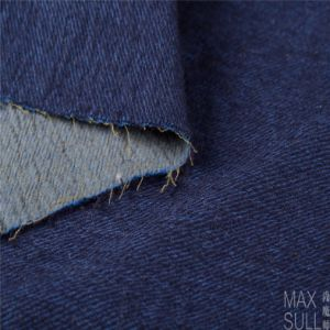 Mixed Wool Fabric with Durable for Autumn Winter in Blue