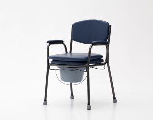 Steel, Height Adjustable, Commode Chair (YJ-7400) pictures & photos