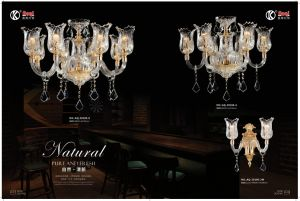 Nordic Simple Pure Fresh Crystal Chandelier Light pictures & photos