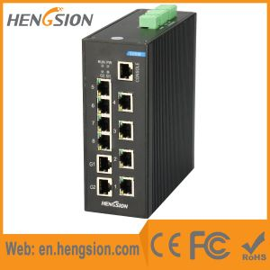 8 electric Port 2 SFP Fx Industrial Poe Ethernet Switch pictures & photos
