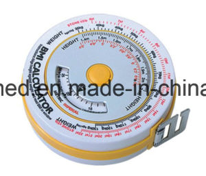BMI Dial Body Mass Index Measure Tape pictures & photos