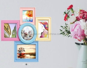 Table Top Desk Plastic Photo Frame pictures & photos