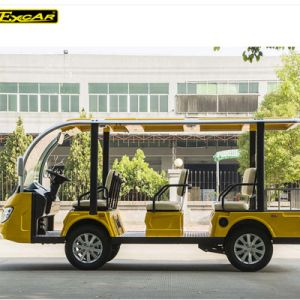 China 48V Battery Power Electric Sightseeing Car pictures & photos