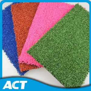 13 mm Pink Color Artificial Hockey Grass for Water Based (H12) pictures & photos