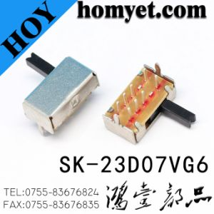 Dp3t Right Angle Slide Switch Sk-23D07 pictures & photos
