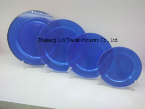 Plastic Plate, Disposable, Tableware, Tray, Dish, Colorful, PS, SGS, PA-01 pictures & photos