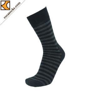 Men′s Merino Horizontal Stripe Dress Socks (163014SK) pictures & photos