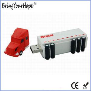 3D Style Truck Shape PVC USB Memory Pen Drive (XH-USB-166S) pictures & photos
