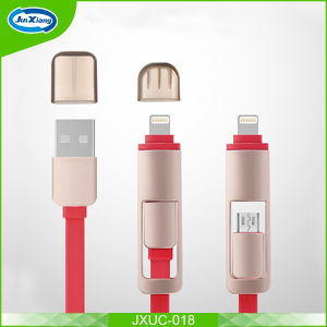 New Products 2016 Micro USB Cable for iPhone, Micro USB Cable Nylon Braided Micro USB Charger for iPhone pictures & photos
