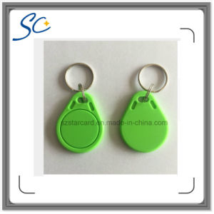 125kHz Tk4100 Proximity Waterproof RFID Key Tag for Door Access Control