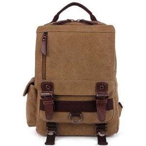 Trendy Canvas School Backpack Outdoor Adventure Bag Sy7859 pictures & photos