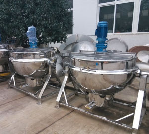 Tilting Kettle Natgas Heating Jacketed Kettle Ketchup Kettle Jam Kettle pictures & photos