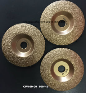 Vacuum Brazed Diamond Cup Shape Saw Blade pictures & photos