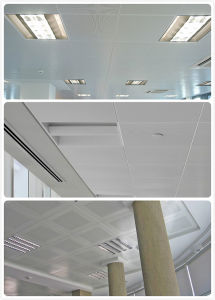 Decorative Ceiling Aluminium Acoustic Panels with Factory Price pictures & photos