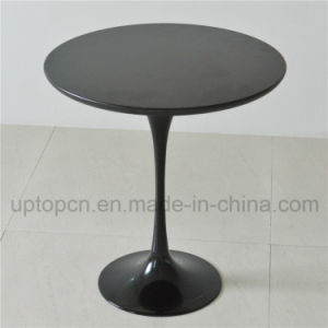 Black Tulip Table with Aluminum Table Base and Painted Table Top (SP-GT345) pictures & photos