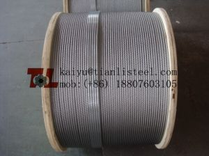 AISI 304 7*37 Stainless Steel Wire Rope pictures & photos
