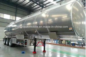 55000L Aluminum Alloy Tanker Trailer 50 Tons Fuel Tanker Trailer Price pictures & photos