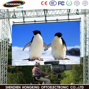 Refresh Rate 1920Hz Outdoor P6 LED Display Sign pictures & photos