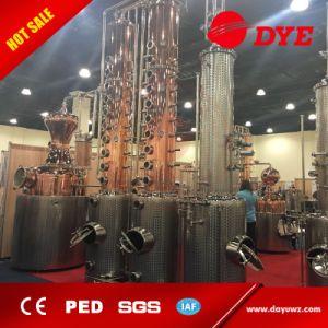 Vodka, Whiskey, Brandy, Rum Distillery Copper Distillation Equipment pictures & photos