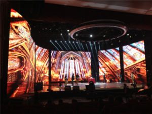 pH3.9mm Rental LED Video Wall for Stage Background