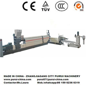 Plastic Recycling and Pelletizing Machine for Bottle Flakes pictures & photos