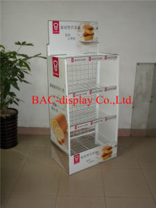 Custom Design Metal Food Display Stand for Cake, Metal Display Shelf pictures & photos