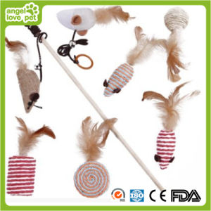 Suite of Sisal Cat Toys Tease Rod Pet Toys pictures & photos