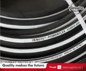 High Pressure Flexible Rubber Hydraulic Hose 2sn R2at pictures & photos
