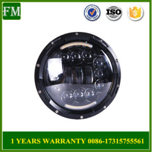 "for Jeep Wranglerjk 7"" Round LED Headlight Hi/Lo Beam pictures & photos"
