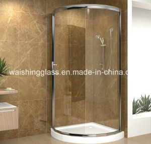 6mm Curved Tempered Glass Sliding Door pictures & photos