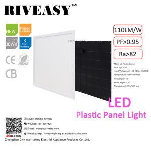 30W LED Plastic Panel Light with Ce&RoHS pictures & photos
