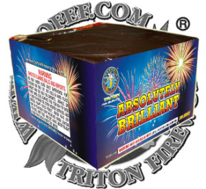 """0.8"""" Absolutely Brilliant 100 Shots Cake Fireworks pictures & photos"""