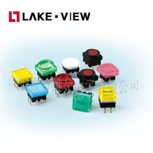 Illuminated Tact Switch with Multiple LED Color Options pictures & photos