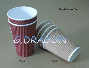 1.5-32 Ounce Hot Beverage Paper Cups and Lids (PC11002) pictures & photos