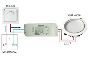 40W 12V Transformer Ce RoHS LED Driver From China pictures & photos