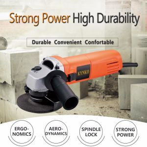 Industrial Grade Power Tools 750W Angle Grinder (KD38) pictures & photos