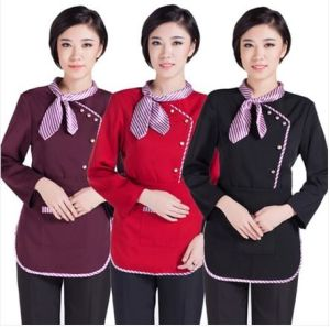 Custom Slim Fit Hotel Staff Uniforms Wholesale pictures & photos