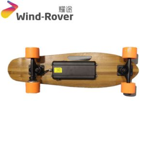 High Speed E-Scooter Four Wheels Fast Electric Skateboard pictures & photos