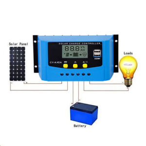 40A Solar Regulator Controller USB Charge 12V 24V LCD Display PWM for Batteries pictures & photos