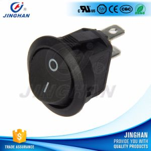 Sub-Mini Round Rocker Switch 2pin Dia 15mm on-off pictures & photos