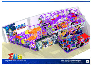 Innovation Play Space Themed Amusement Park