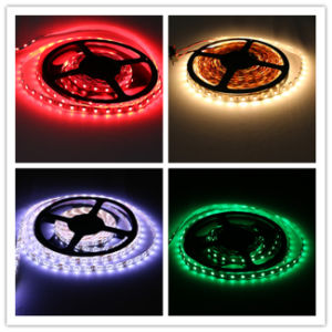 High Brightness IP67 Green Color SMD5050 Chip 60leds 14.4W DC12V LED Strip pictures & photos