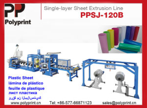 Automatic PP/PS Material Plastic Sheet Extruder pictures & photos