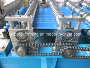 Corrugated Galvanized Steel Sheet Roll Forming Machine pictures & photos