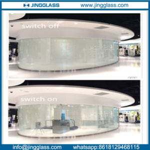 Electrice Switchable Smart Glass with Pdlc Film in Commercial Center pictures & photos