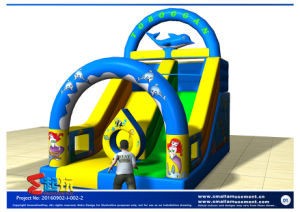 Dolphin Modelling Inflatable Slide pictures & photos