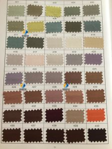Stock Satin, Polyester Satin Fabric, Shiny Twisted Satin Silk Fabric (Color Chart 3) pictures & photos